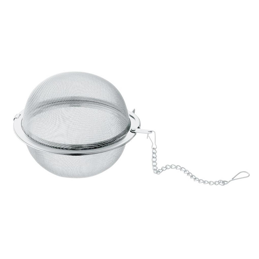 Stainless Steel Tea Ball Strainer Mesh Infuser Filter