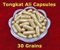50: 1 Cápsulas 30 Granos Originales Piezas Crudo Raíz Tongkat Ali Extracto En Polvo Esencia De Malasia Para Hombre Productos de Salud