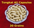 50 :1 Tongkat Ali Capsules 30 Grains Original Pieces Raw Root Extract Essence Powder From Malaysia For Man Health Products