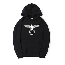 2017 neue Männer frauen hoodies Baumwolle Hip Hop hoodie sweatshirt Rock And Roll Rammstein Punk Stil streetwear Camisa Masculina