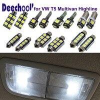 Parking Interior LED Light Bar Kit In Xenon White For Car VW T5 Highline LED 12V