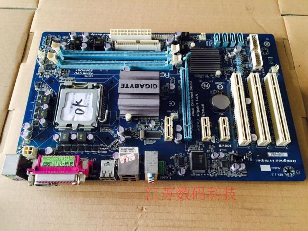 100% original Free shipping motherboard for Gigabyte GA-P41T-D3P DDR3 LGA 775 free shipping