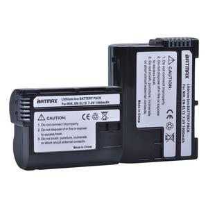 Image 2 - 2個EN EL15 en EL15 ENEL15 EL15A電池 + 液晶デュアルusb充電器ニコン用D600 D610 D600E D800 D800E d810 D7000 D7100 d750 V1