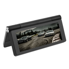 7'' Car Central Control Station DVR Recorder GPS Navigator Backing-up Rearview 1G/16G Memory Glass Lens Car Camera Video Record(China)