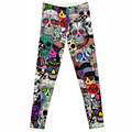 CANDICE ELSA 2014 New Adventure Time Leggings Bro Ball Legging for Women Girl Leggings
