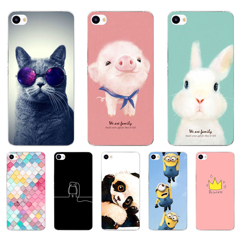 Meizu U10 Case,Silicon Painted Animals Painting Soft TPU Back Cover For Meizu U20 Protect
