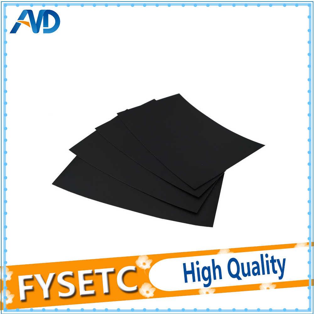 1x232*154 мм черная лента для кровати с подогревом печатная наклейка матовая нагреваемая кровать сборная пластина лента для Creator Pro/Dreamer