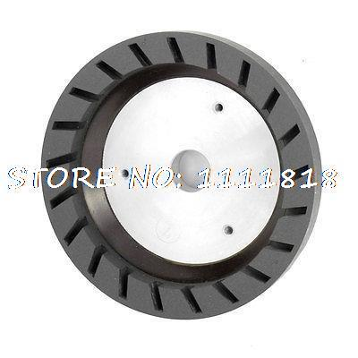 6# Grit 22mm Bored Grinding Wheels for Beveling Glass Edging Machine 1piece 4 resin bond diamond cup wheel for glass edging beveling machine dia150x15x10 hole 12 22 50 grit 240 china factory bl017