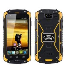 2017 Новый GuoPhone V9 Телефон V9 PRO С IP68 MTK6572 Android 4.2 3 Г GPS AGPS 4.5 Дюймов Экран Противоударный Водонепроницаемый Смартфон