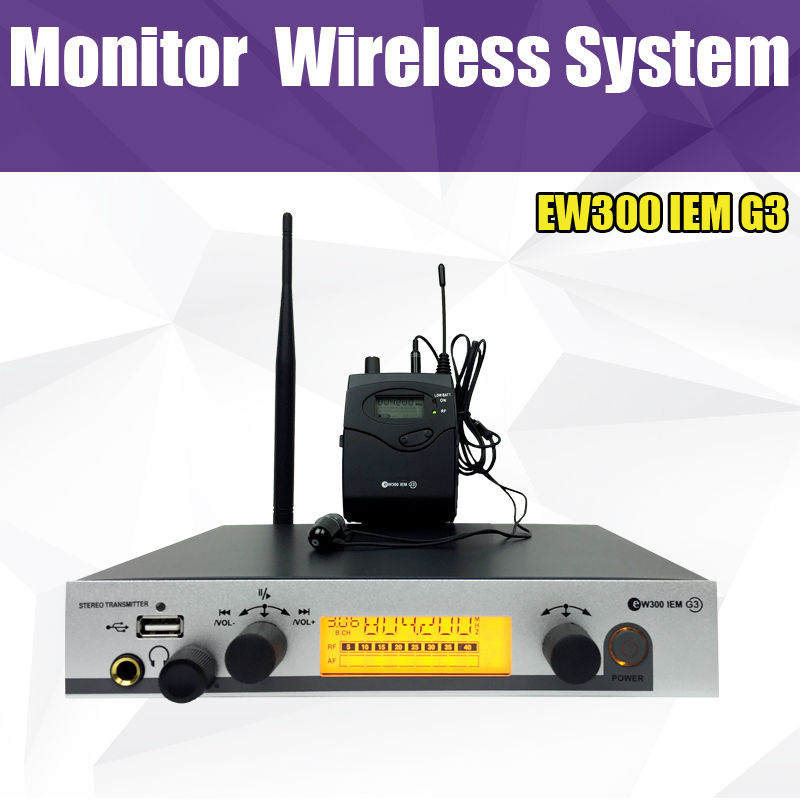 EW300 IEM G3, SR 300 IEM G3 Monitoring System, Wireless in ear Monitor Professional for Stage Performance Monitor Headphone elan gallery статуэтка декоративная мелани