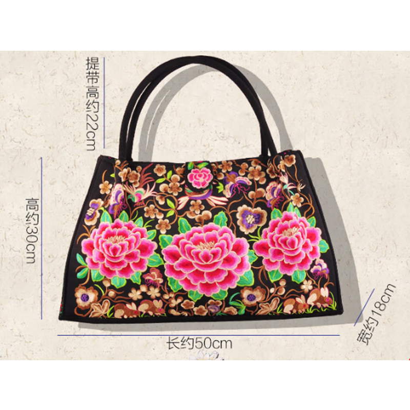 6d8b3cb14e Fashion Vintage Embroidery National Ethnic Flowers bags Embroidered ...