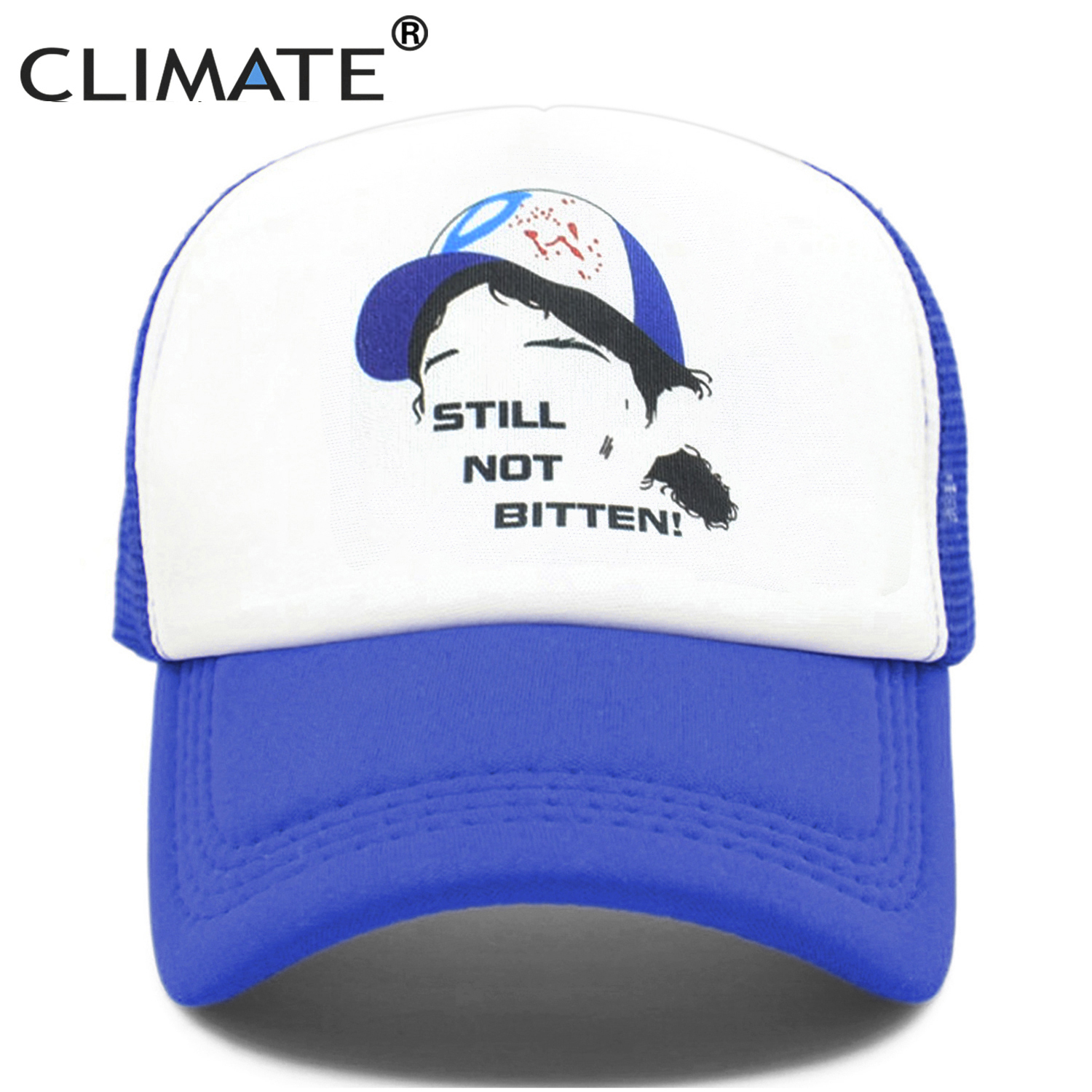 US $4 27 52% OFF|CLIMATE The Walking Die Game Clementine Cosplay Caps Hat  Clem's Girl Coser Zombie Killer Cap Summer Cool Trucker Caps Hats-in Men's