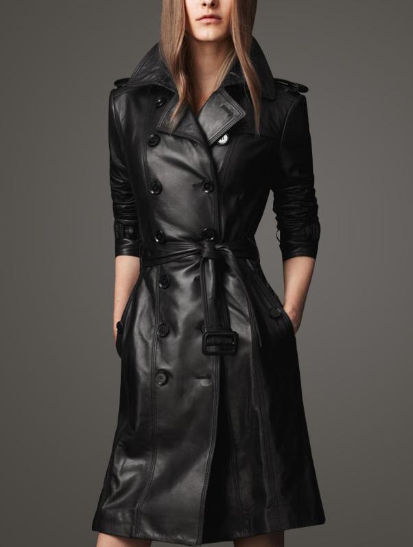 Black Spring Coat - JacketIn