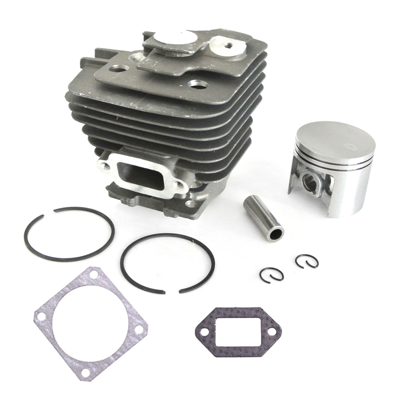 New Cylinder 47mm Piston Ring Motor Kit For STIHL MS361 MS341 Chainsaws 47mm cylinder piston kit for stihl ms310 ms 310 rep 1127 020 1218