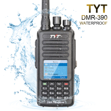 100% Brand New Original TYT Waterproof IP-67 UHF 400-480MHZ 5W DMR Portable FM Transceiver with Cable and Software