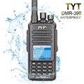 100% brand new original tyt uhf 400-480 mhz 5 w dmr ip-67 à prova d' água portátil transceptor fm com cabo e software