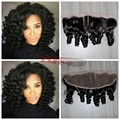 7a top quality full lace frontal aunty funmi bouncy curls hair lace frontal closure unprocessed virgin human funmi hair