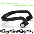 2016 New DZ100 Portable Smart Bone Conduction Bluetooth Earphone for ios Android Bluetooth Headset NFC Answer Call Play Music