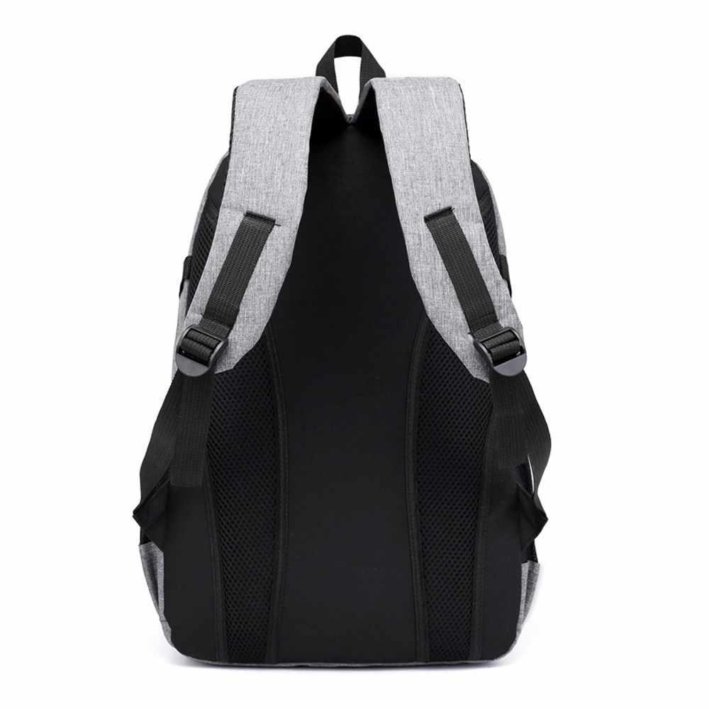 2019 большой ёмкость рюкзак Человек Дорожная сумка для ноутбука дорожная сумка унисекс большой нейлон сумки студент мужской # YL5