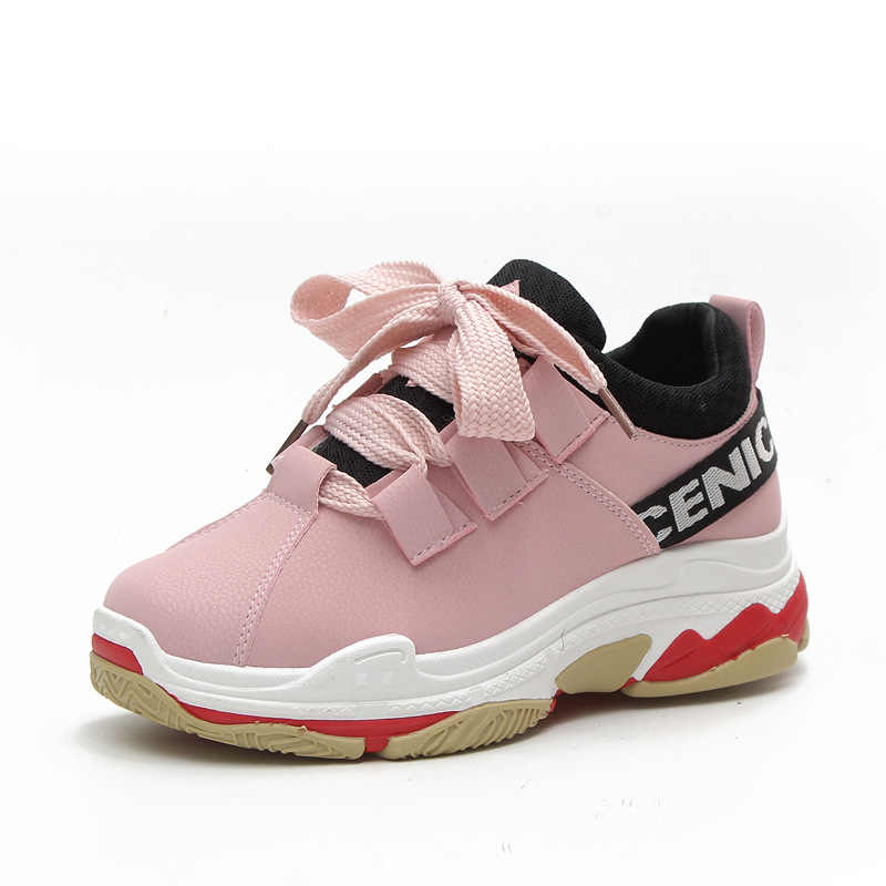 Sports Shoes For Women Ulzzang Zipper High Quality Slimming Shoes Woman Fitness Female Students Badminton Shoes Sneakers