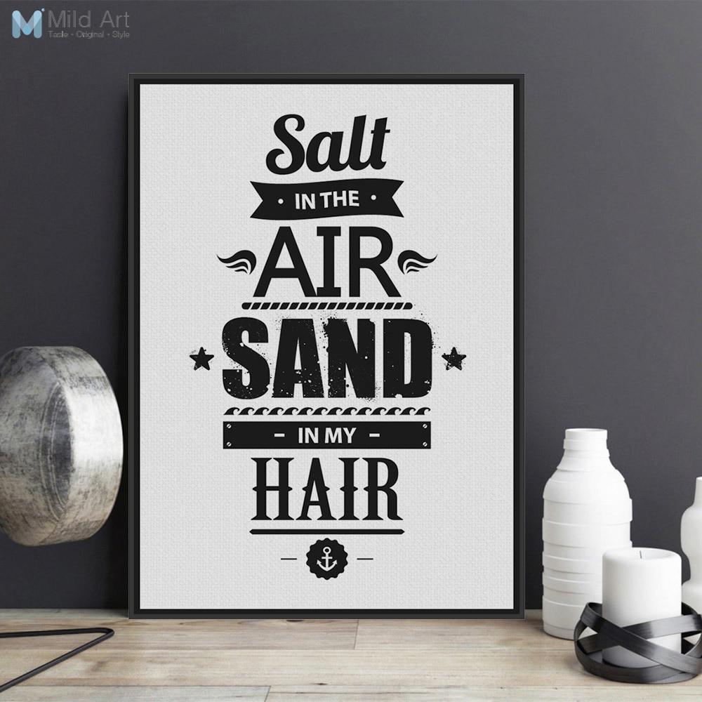 Minimalist Black White Motivational Typography Quotes Art ...