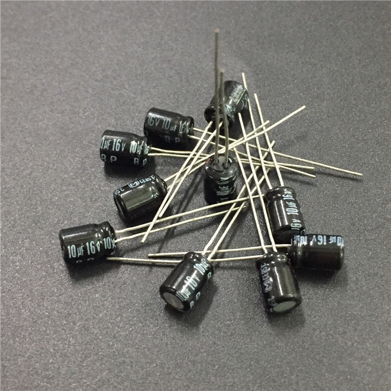 10pcs 10uF 16V BP 5x7mm 16V10uF High Quality Bipolar Audio Capacitor