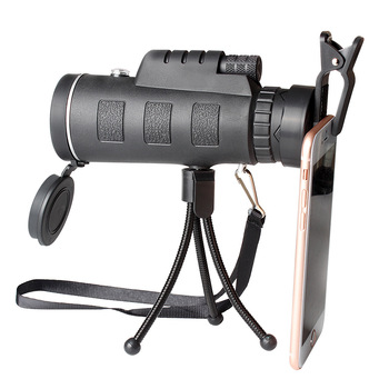 HD Monocular 40x60 Powerful Binoculars High Quality Zoom Great Handheld Telescope BAK4 Military HD Professional Hunting Gifts image