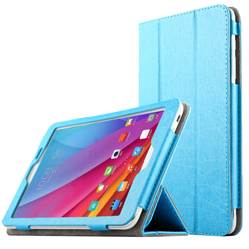 Case For Huawei Mediapad T1 8.0 PU Leather Smart Cover Protective Tablet PC For HUAWEI Honor T1-823L T1-821W S8-701U/W Protector