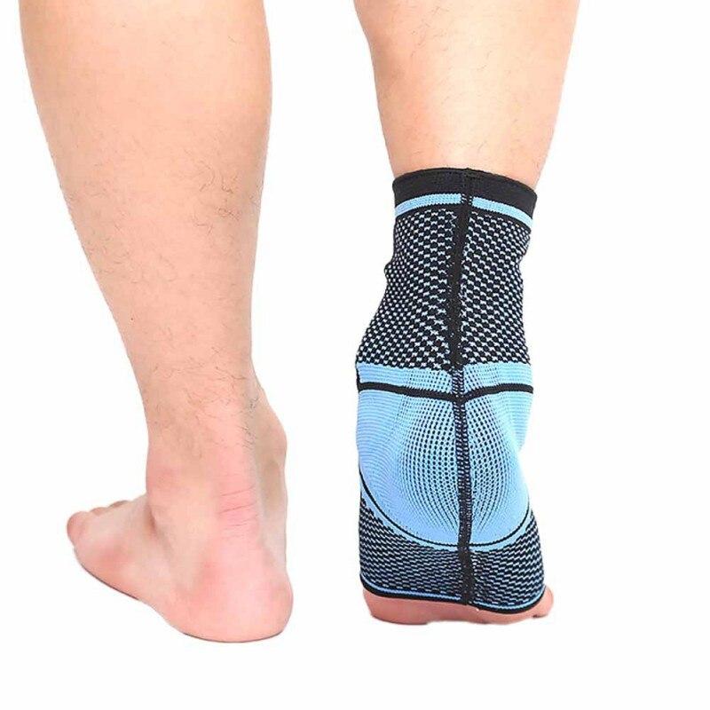 1pc tornozelo suporte malha náilon absorção de