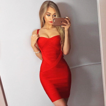 Mini Sexy Spaghetti Strap Strapless Dress