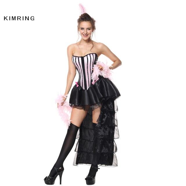 Kimring Donne Sexy Halloween Costume di Danza Vestito Da Partito Costume di  Carnevale Per Adulti Burlesque 4154eada57cf