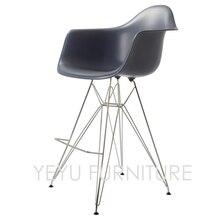 Minimalistischen Modernen Design Arm Barhocker Wohnzimmer Bar Mbel Moderne Kunststoff Metall Stahl