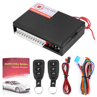 Anti Theft Car Auto Central Kit Door Lock Locking Vehicle Keyless Unlock Entry System With Remote