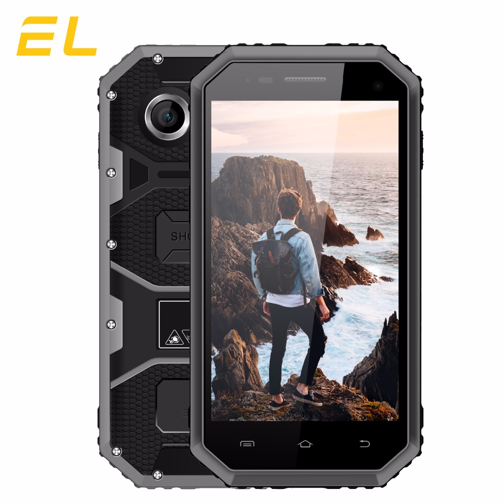Original EL W6 Rugged Mobile Phone IP68 Waterproof Cell phone 4.5 Inches 8GB ROM 1GB RAM Dual Sim Unlocked China Phones Cheap