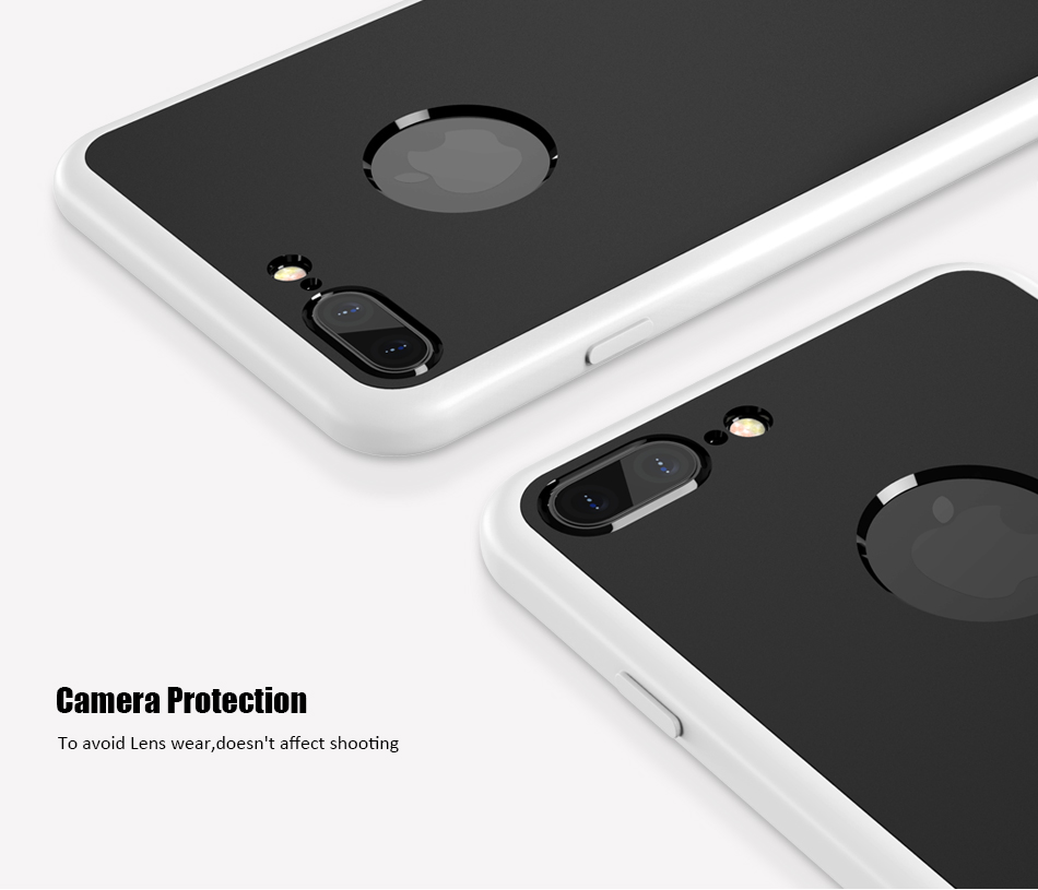 KISSCASE 360 Degree Coverage Phone Cases For iPhone 6 6s Plus 7 7 Plus Soft TPU Silicon Full  Protective Cover For iPhone 6 6s 7 (6)