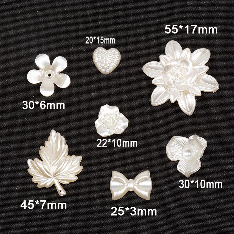 Новые Большие Акриловые Свободные бусины лепесток цветка розы