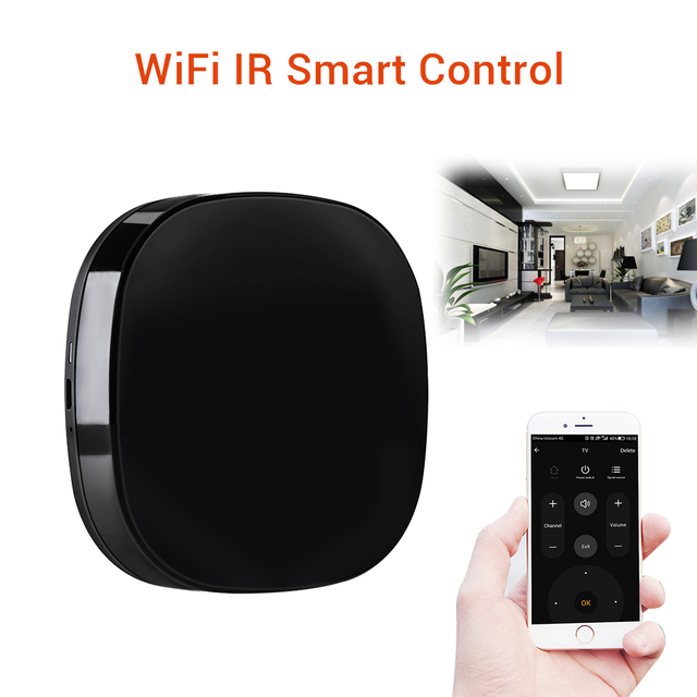 A1 Smart Universal Remote Control IR WiFi Automatic RF Intelligent Remote Control Suitable for Alexa Google Assistant With APP