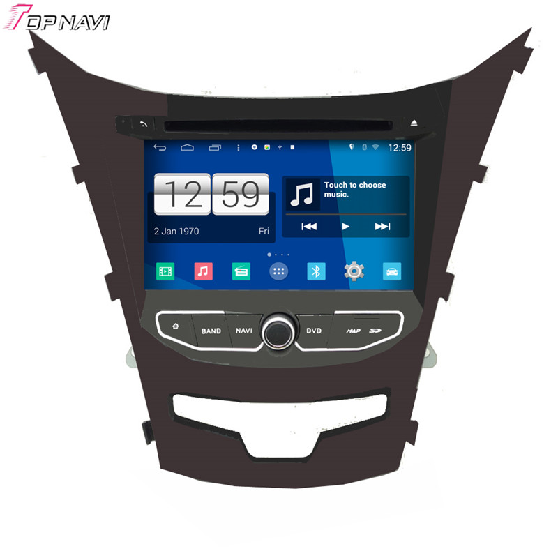 7'' Quad Core S160 Android 4.4 Car DVD Multimedia GPS For Ssangyong Korando 2014 With Mirror Link 16Gb Flash Stereo Radio