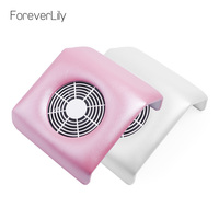 Top Quality 220V /110V Nail Fan Art Dust Suction Collector Manicure Filing Acrylic UV Gel Machine Nail Dust Collector