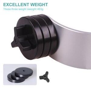 Image 5 - Ręczny stabilizator wideo stabilizator aparatu Steadicam do aparatu Canon Nikon Sony Gopro Hero telefon DSLR DV DSL 04
