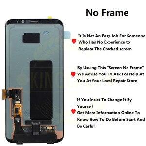 Image 2 - Pour Samsung S8 LCD avec remplacement de cadre pour SAMSUNG Galaxy S8 Plus LCD G955 S8 G950 G950F affichage lcd écran tactile numériseur