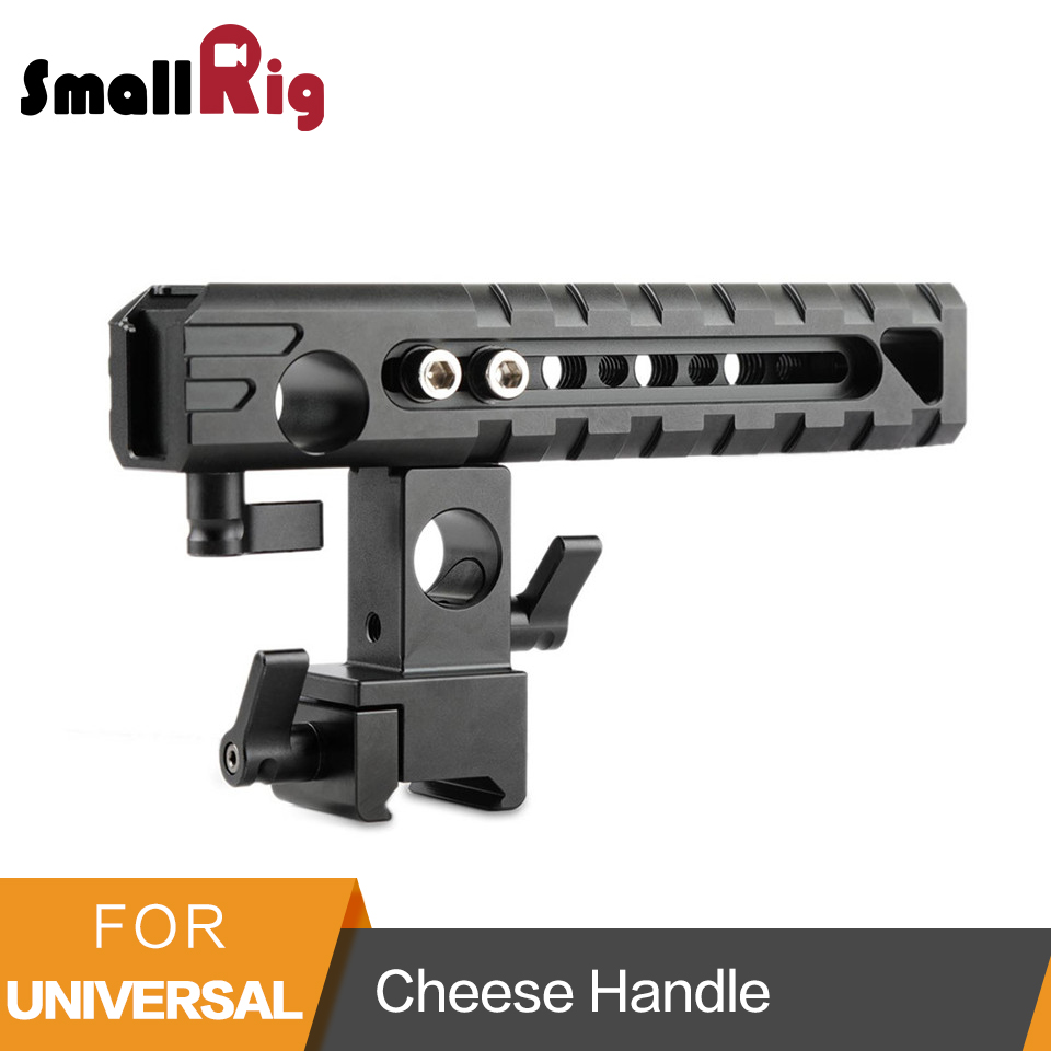 SmallRig QR Cheese Handle with a Shoe Mount All-round Slliding Handle Quick Release Top Handle - 1720