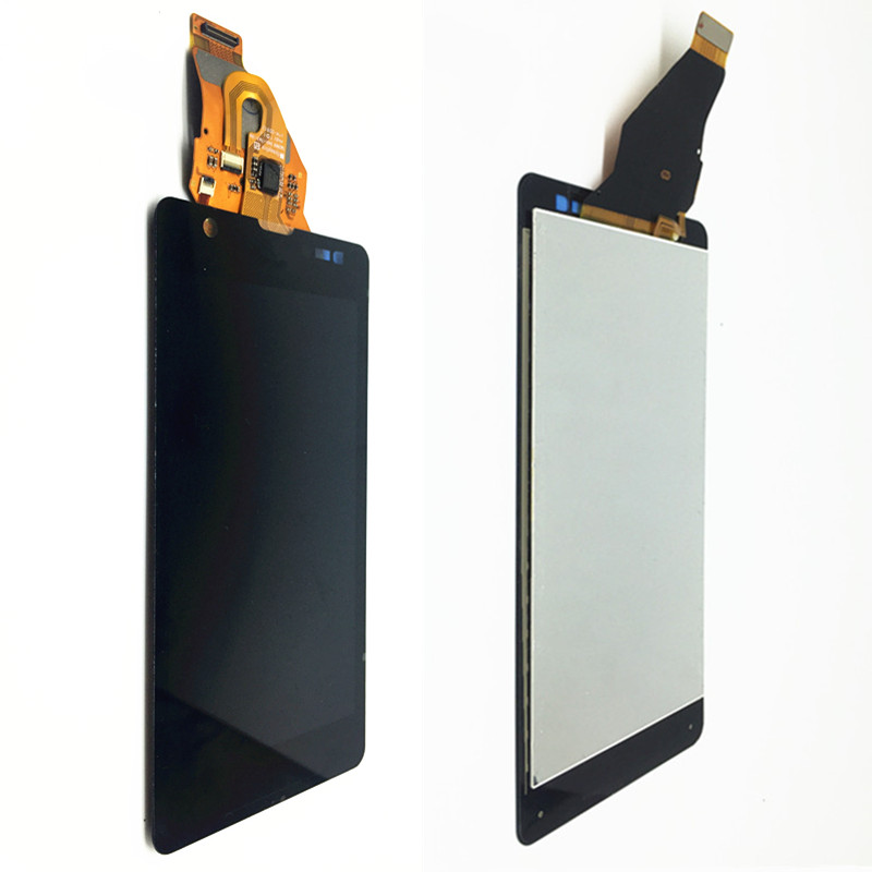 For Sony Xperia ZR M36H C5503 C5502 LCD Display Matrix + Touch Screen Digitizer Full Assembly For Sony C5502 Black