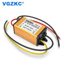 Low power consumption step-down device for 36V 48V to 5V 2A DC power supply 8-60V to 5V on-board step-down power converter power shield power supply board 5v 350ma for arduino aaa 2 battery gm