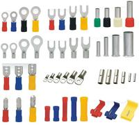 produce various kinds of cold pressing wiring terminals and contacts terminals