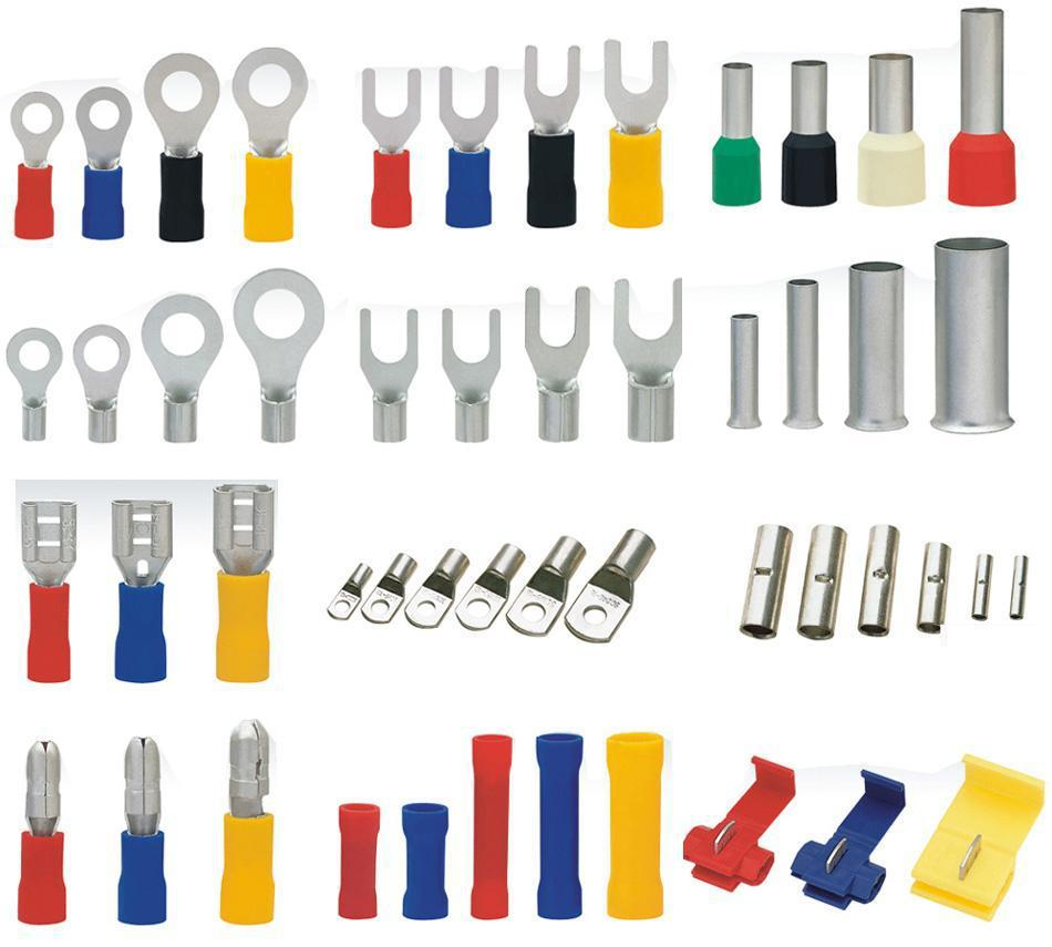 produce various kinds of cold pressing wiring terminals and contacts terminals contacts