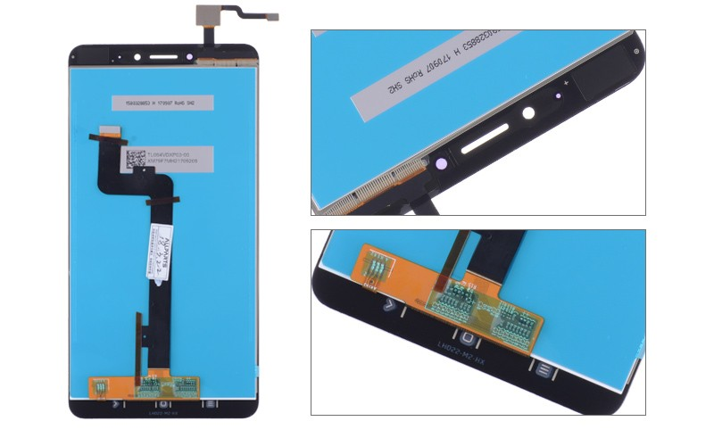 6.44 Original Display For XIAOMI Mi Max 2 LCD Touch Screen with Frame Replacement Screen for Xiaomi Mi Max 2 Display Max2 LCD (7)