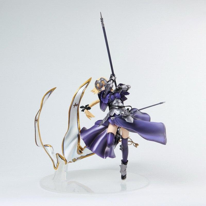 Nouveau dessin animé destin/Apocrypha Jeanne D'Arc armée drapeau porteur figurine d'action japonais Anime PVC modèle Collection jouets enfant cadeaux