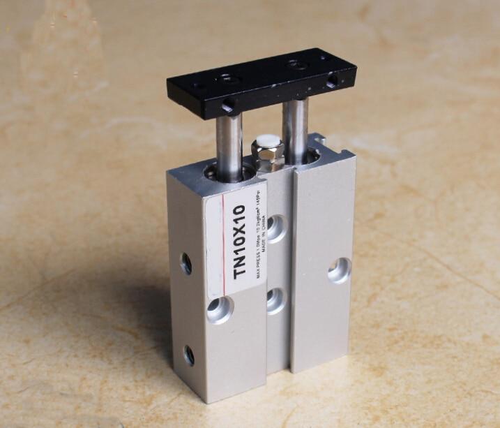 все цены на bore 32mm X10mm stroke TN series Double-shaft double acting cylinder онлайн