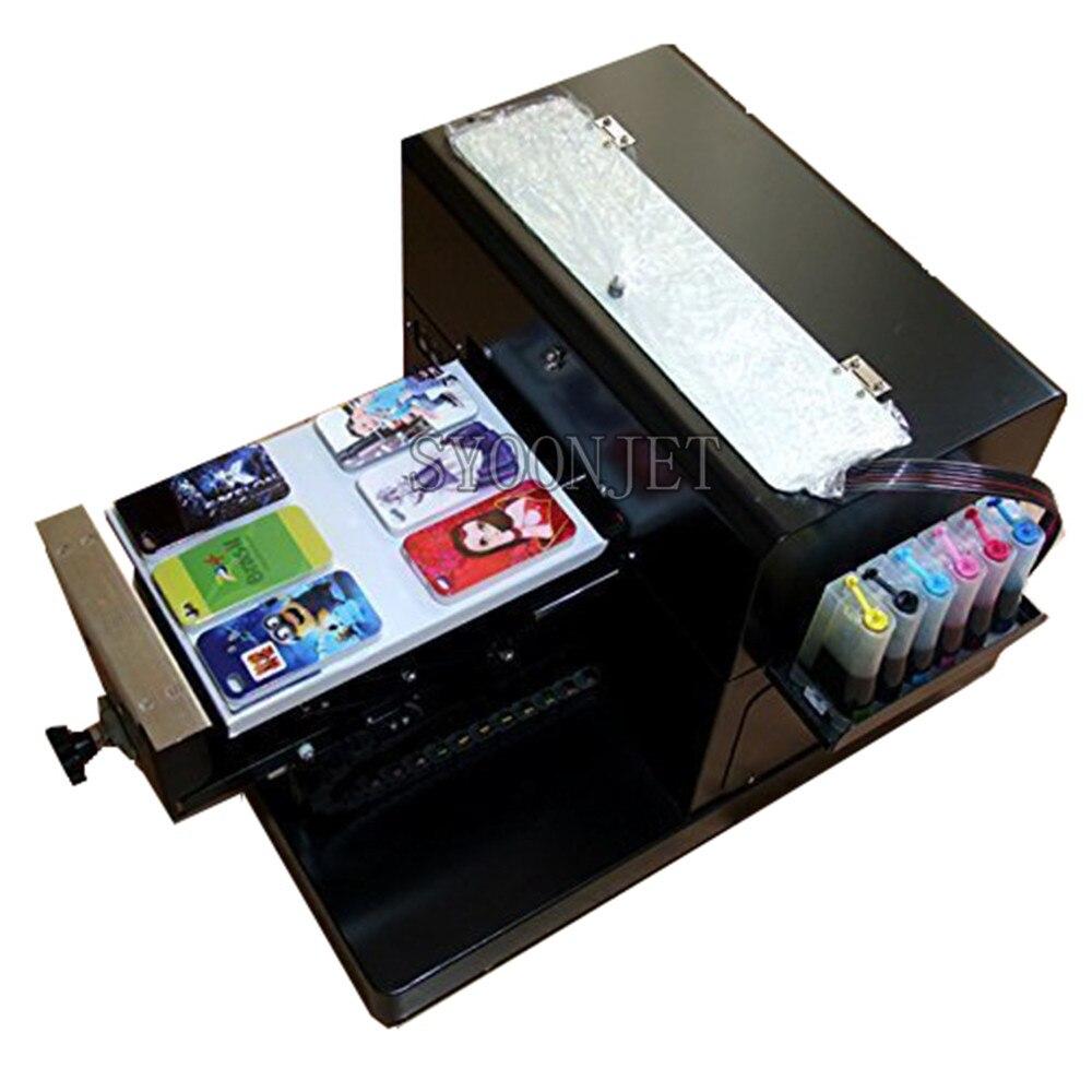 Multi-funktion a4 DTG flachbettdrucker Direct to garment T-shirt druck maschine für Dark Licht T-shirt Telefon fall kunststoff karten